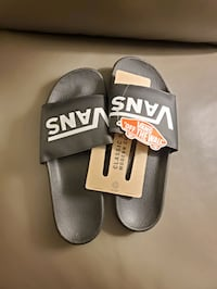 Vans slippers size 13 brand new