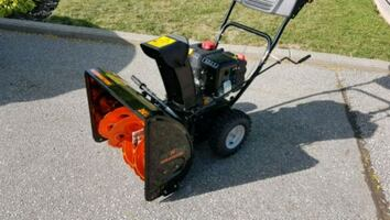 Remington Two Stage Snow Blower New