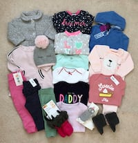 Baby girl's Fall/Winter clothing lot Mississauga, L5M 6C6