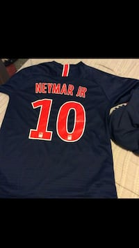 6e8a75cf Used Nike Fly Emirates PSG NEYMAR jersey shirt for sale in ...