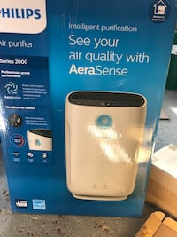 Philips Air Purifier Series 2000 Intelligent purification See your air quality with AeraSense Toronto, M5L 2W4