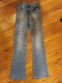 Girls bootcut light blue jeans Wichita