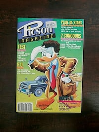 RARE VINTAGE French Disney Picsou Magazine! West Hollywood