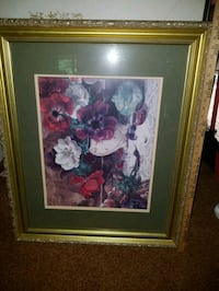 Beautiful framed picture with green mat Brookfield, 53005