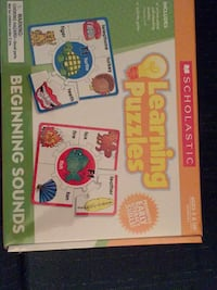 New Scholastic Rhyming Learning Puzzles-shrink wrapped Columbia, 21045