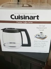 Cuisinart 12 Cup Replacement Carafe