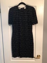 Black beaded dress Hamilton, L9C 1W3