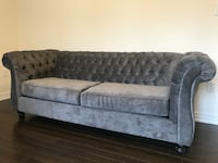 Grey Couch , only used for staging, like new  Markham, L6E