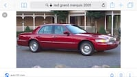 Mercury - Grand Marquis - 2001 Washington, 20001