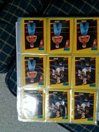 nine assorted baseball trading cards Frederick, 21702