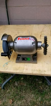 Tremendous Allied 8 In Bench Grinder 3 4 Hp Like New Ibusinesslaw Wood Chair Design Ideas Ibusinesslaworg