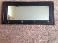 Small black wood framed mirror St Catharines, L2M 7P5