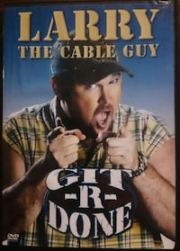 Larry The Cable Guy DVD Git-R-Done  75 mi