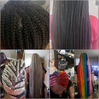 box braids Edmonton