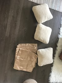3 pillow with case and extra  4 cover Edmonton, T5X 0H2