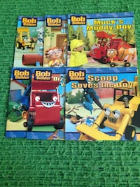 Six Bob the builder books .Brand new in excellent condition