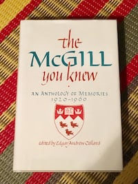 The McGill University You Knew hardcover