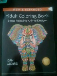 Brand new adult coloring book