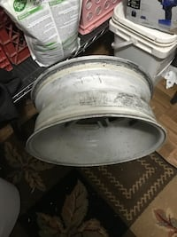 4 White wall wheels for sale