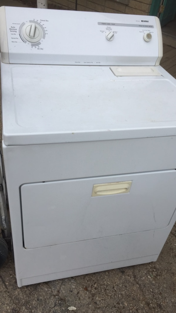 Used White Front Load Clothes Dryer For Sale In Raleigh