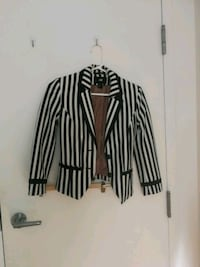 black and white striped blazer Toronto, M5V 0M2