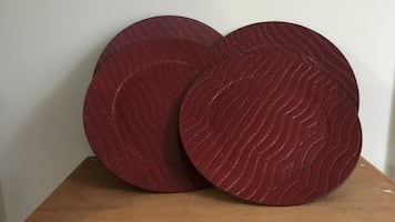 Charger plates set of 4