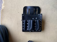Leather tool pouch new