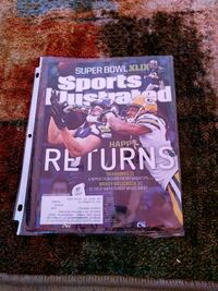 Seahawks Packers sports illustrated Corinth, 04427