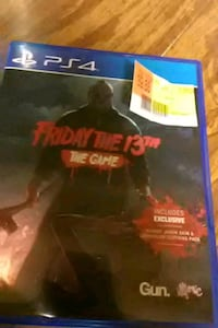 Sony PS4 Friday the 13th game case Moriarty, 87035