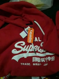 red and white Superdry hoodie Washington, 20032