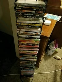 DVD tower - DvDs not included