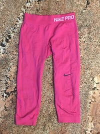 Women's pink Nike pro Athletic pants 48 km