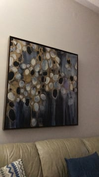 brown and gray abstract painting Richmond Hill, L4E 5A6
