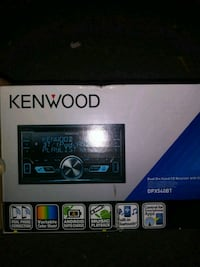Brand new  Kenwood stereo system UBS DVD player Baltimore, 21223