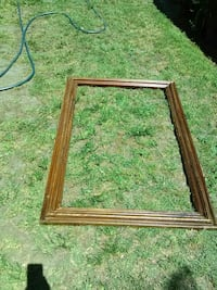 rectangular brown wooden framed mirror Compton, 90220