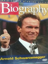Arnold Schwarzenegger Biography dvd