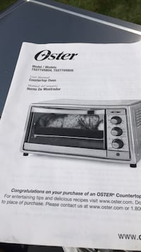 Oster toaster oven South Plainfield, 07080