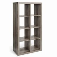 Better Homes and Gardens 8 Cube Storage Organizer, Rustic Grey (New in Box) Fort Wayne