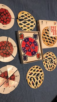 Fractions are as Easy as Pie Game-cardboard halves, thirds, fourths, sixths, & eighths Columbia, 21045