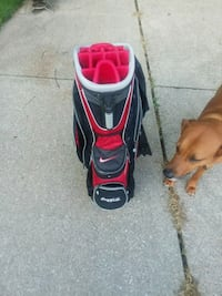 red and black golf bag Wadsworth, 44281