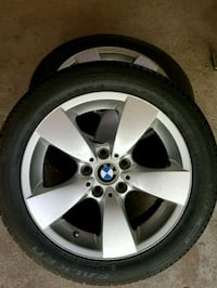 """18"""" BMW rims with new Falkin tires Dunrobin, K0A 1T0"""