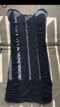 Black Lace Club Dress