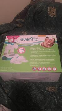 Evenflo advanced double electric breast pump box