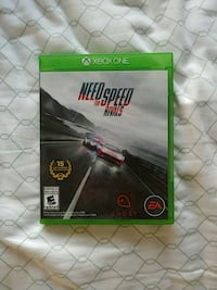 Need for Speed Rivals Xbox One game case Toronto, M6K 1W8