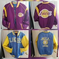 Los Angeles Lakers reversible bomber