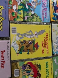 Bugs bunny little golden 11 books in like new condition  Toronto, M5N 2N8