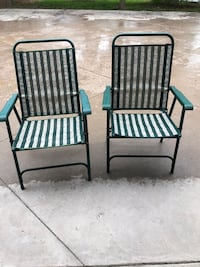 Outdoor patio furniture chairs set of 2 Vaughan, L4L 8C9
