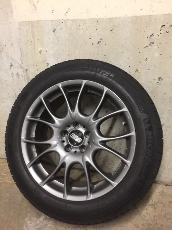 Winter tiers with rims
