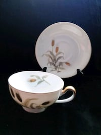 Vintage Golden Wheat SEYEI China Japan Cup & Saucer