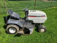 """White lawn tractor 42"""""""